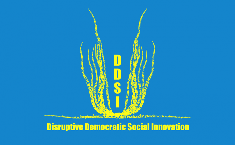 ICT2015: Ubiquitous Commons and the development of Communities for Disruptive Democratic Social Innovation